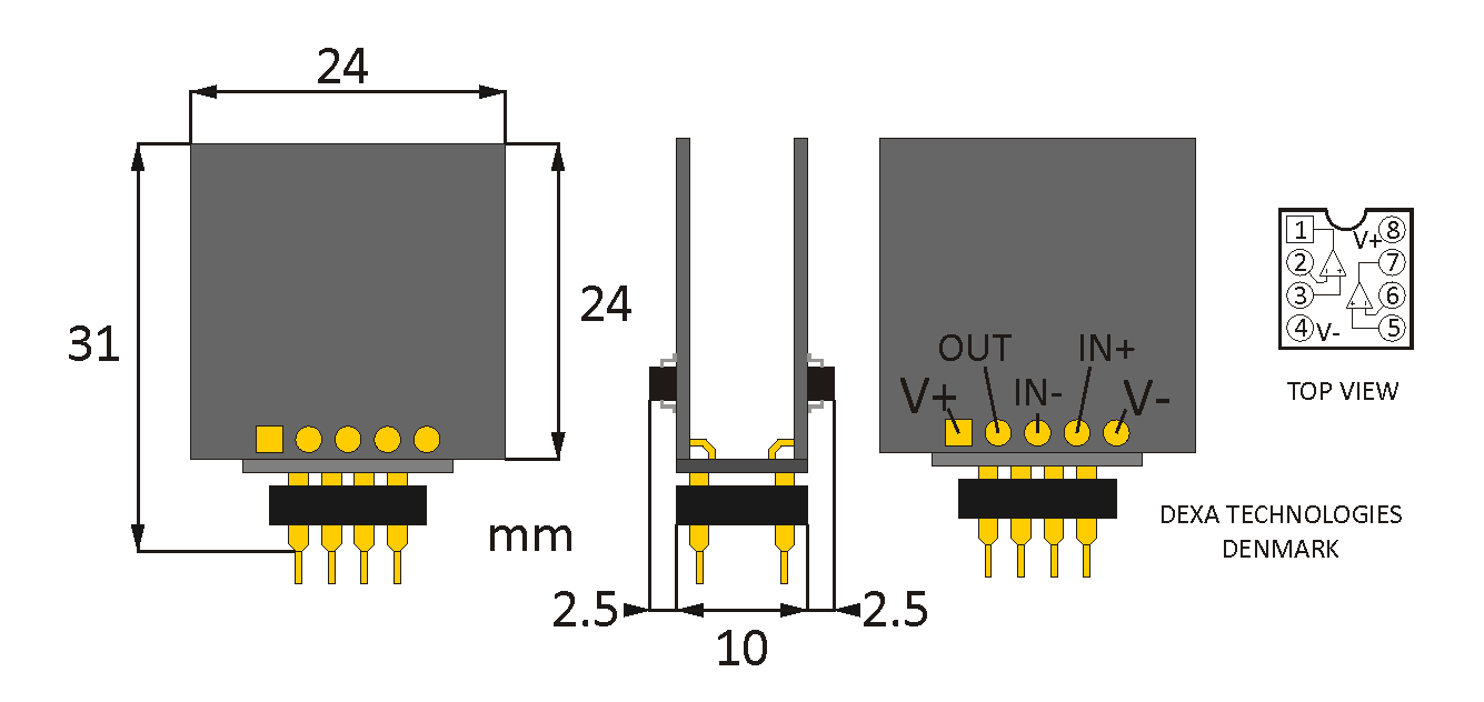NewClassD OPAMP-SE Dual